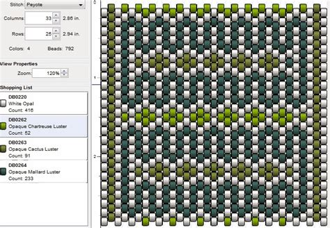 imaginesque beading peyote stitch pattern 12