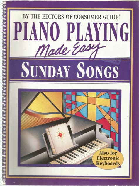 Piano Made Easy piano made easy sunday songs also for electronic