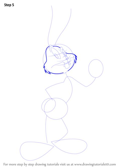how to draw bugs bunny step by step easy step by step how to draw bugs bunny drawingtutorials101 com