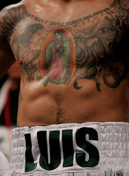 pacquiao tattoo the six most badass tattoos in boxing featuring manny