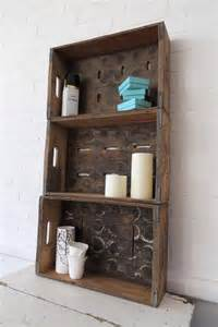 rustic bathroom storage vintage bathroom cabinet cupboard wall rack display shelf