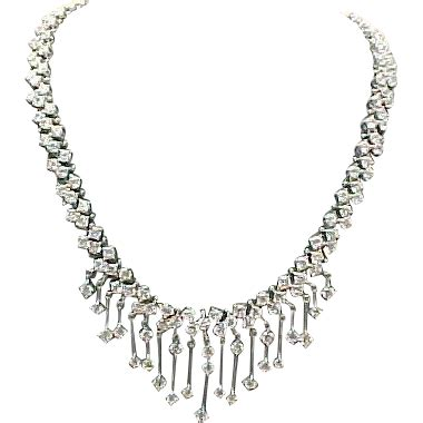 Cleopatra Necklace 1 cleopatra paste sterling silver necklace from