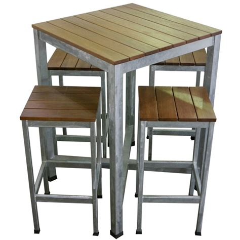 Patio Pub Table And Chairs Carita Outdoor Bar Furniture Pub Table And Bar Stools Setting Apex