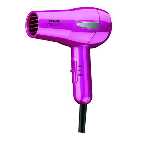 Conair Hair Dryer Dual Voltage conair 245hp minipro tourmaline ceramic travel hair dryer