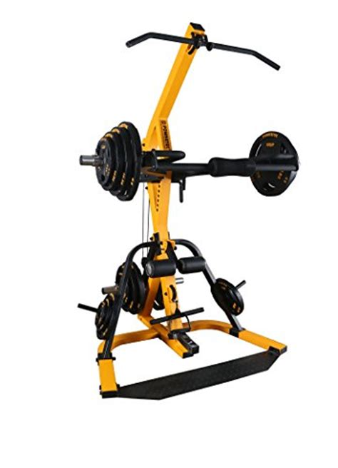 yellow weight bench powertec fitness workbench levergym tower without bench