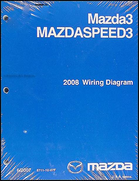 2008 mazda3 repair shop manual original