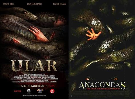 film ular naconda ular copies anacondas movie poster hype malaysia