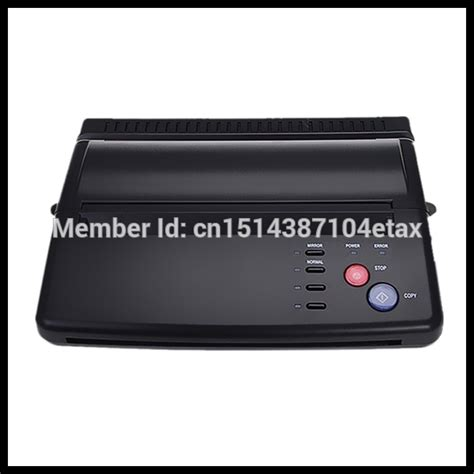 cheap tattoo thermal printer popular thermal copier machine buy cheap thermal copier