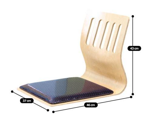 Fabric Sitting Chairs by Floor Sitting Chair Fabric Cushion Japanese Tatami Chair