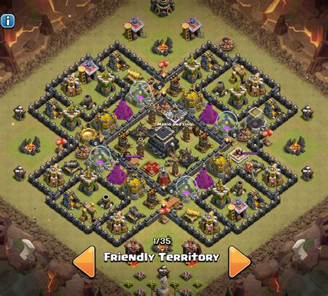 clash of clan th 9 war base best clash of clans th level 9 war and trophy base