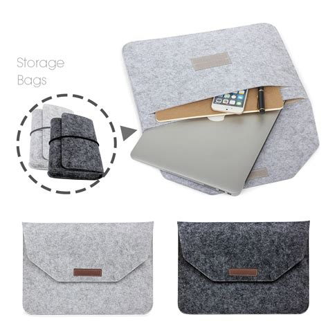 Tas Laptop Sleeve Softcase New Macbook Pro Air Retina 116 154 new fashion soft sleeve bag for apple macbook air pro retina 11 12 13 15 laptop anti