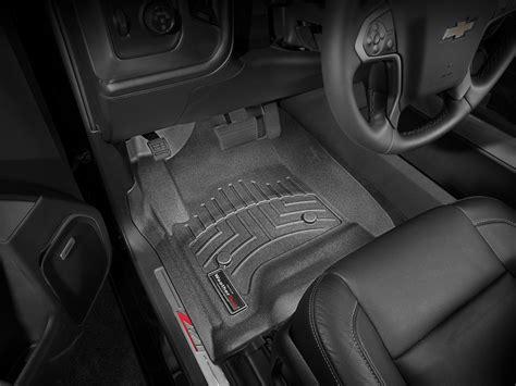 weathertech floorliner for chevy silverado 1500 crew cab