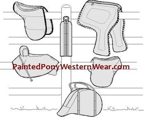 pattern english saddle cover horse saddle cover bridle bag pattern 7400 ebay