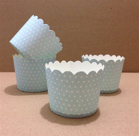 How To Make Paper Muffin Cups - paper muffin cups baking supplies by theme blue with
