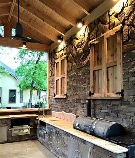 rustic outdoor kitchen ideas rustic outdoor kitchen
