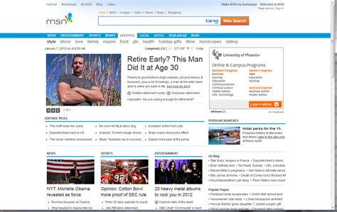 Msn Home by Restore Msn Homepage Images