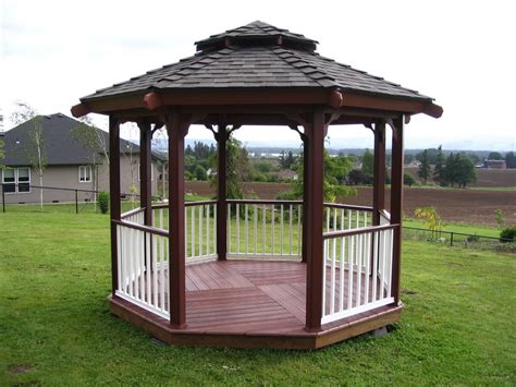 backyard gazebo designs dark brown colour design gazebo round shape design gazebo