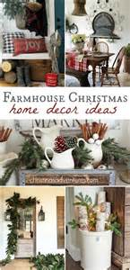 Christmas Decor Design Home farmhouse christmas decorating ideas christinas adventures