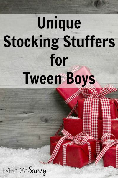 fun stocking stuffers unique stocking stuffer ideas for tween boys everyday savvy