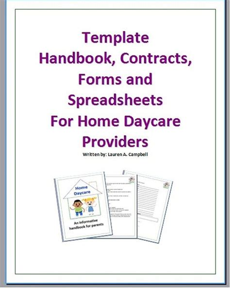 25 Best Ideas About Daycare Contract On Pinterest Daycare Ideas In Home Daycare And Daycare Preschool Staff Contract Templates