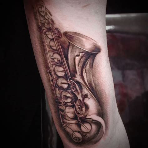 saxophone tattoo best 25 saxophone ideas on