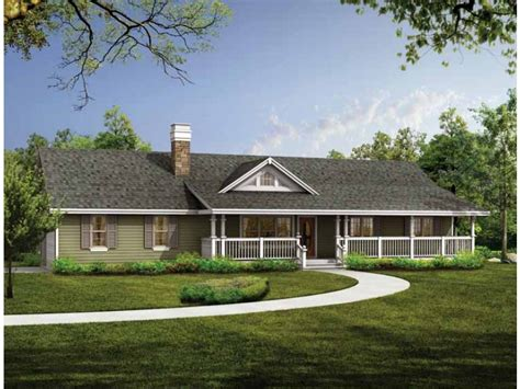farm style houses eplans ranch house plan a sense of spaciousness 1408