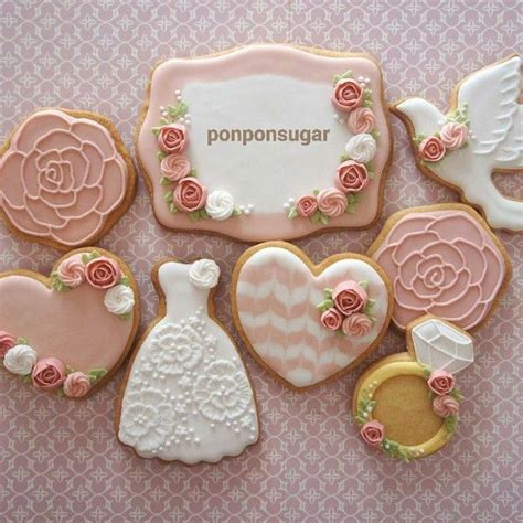 Wedding Cookies by 584 Best Images About Wedding Cookies On