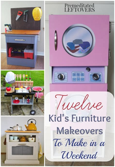 25 ideas recycling furniture for diy kids play kitchen designs kid s furniture makeovers