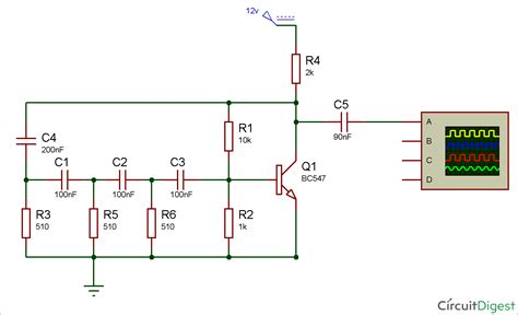 simple sine wave generator circuit using transistor