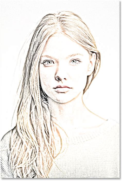 pencil photo effect portrait photo to pencil sketch with photoshop cs6 tutorial