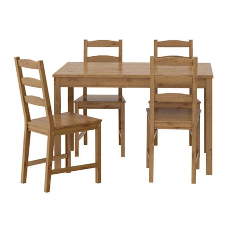 Kitchen Table Chairs Ikea Jokkmokk Table And 4 Chairs Ikea