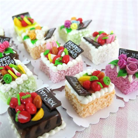 doll house food aliexpress com buy 1pcs cute mini cake 1 12 miniature