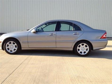 buy used 2006 mercedes c class c280 4matic 47k all records