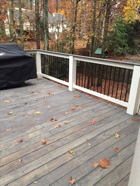 cabot deck stain colors cabot semi solid stain slate outside wood deck