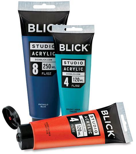 acrylic colors blick studio acrylics blick materials