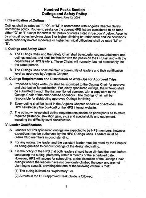 hundred peaks section hps bylaws