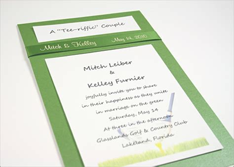 golf themed wedding invitations bridal shower invitations bridal shower invitations golf
