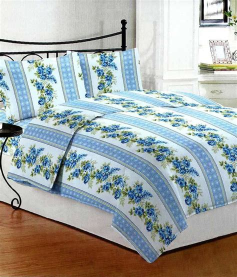 buy bed sheets bombay dyeing cotton double bed sheet with 2 pillow covers