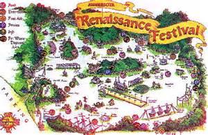 renaissance festival map map of the minnesota renaissance festival