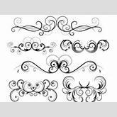 Free Ornate Vector Swirls clip arts, clip art - ClipartLogo.com