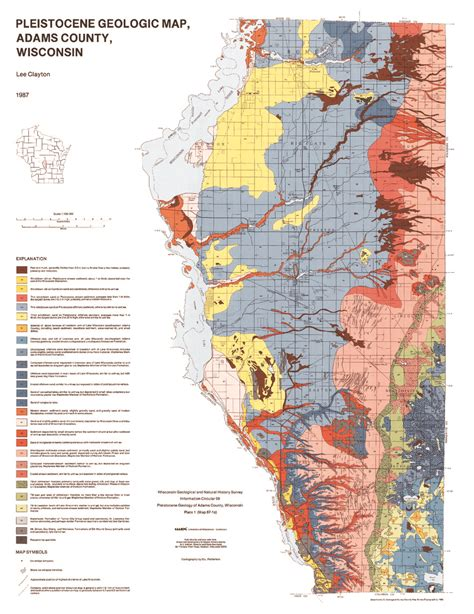 wisconsin its geography and topography history geology and mineralogy together with brief sketches of its antiques history soil population and government classic reprint books wisconsin geological history survey 187 plate 1