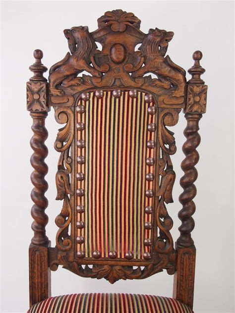 victorian gothic furniture antique victorian oak gothic revival chair