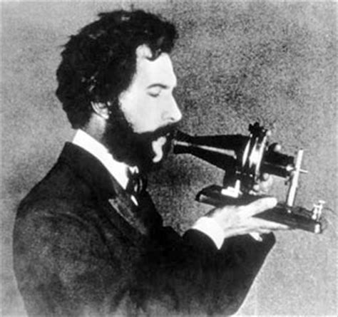 facts about alexander graham bell s telephone alexander bell using the first telephone he invented