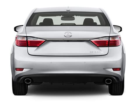 2013 lexus es 350 4 door sedan angular rear exterior view