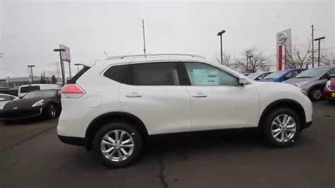 nissan white rogue 2015 nissan rogue sv pearl white fc807777 kent