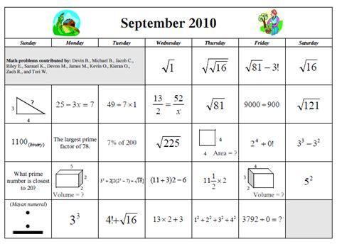 Calendar Math September Calendar Math Calendar Template 2016