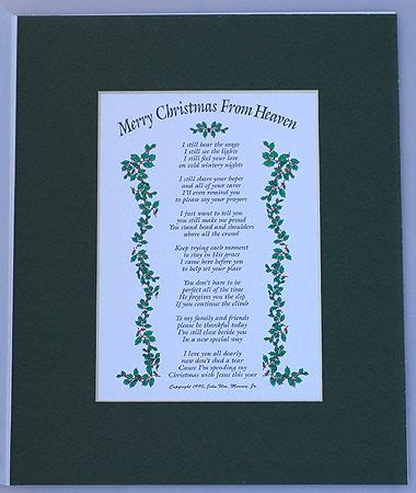 poem merry christmas  heaven prints picture frames  framed prints  angels