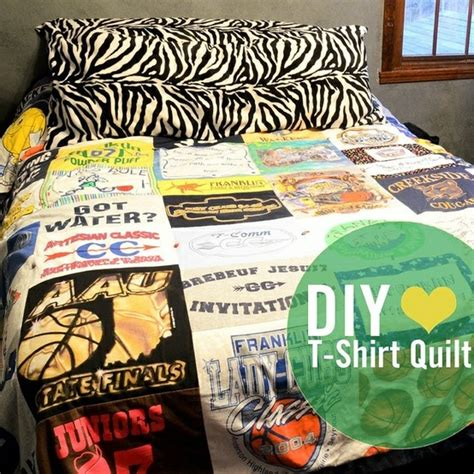 t shirt quilt for all will s shirts diy