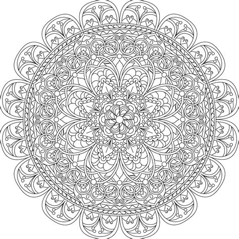 mindful mandalas a mandala 153330033x picture of mindful compassion coloring page mandala them coloring and pictures of