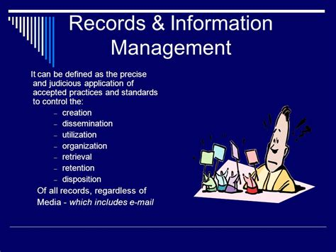 Information Records Records Information Management Ppt